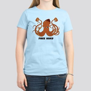 Free Hugs Squid Women's Light T-Shirt